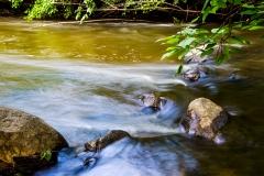 Smooth running water